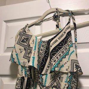 Dresses - Tribal Maxi Dress
